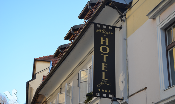 Advice on how to find a hotel in Ljubljana